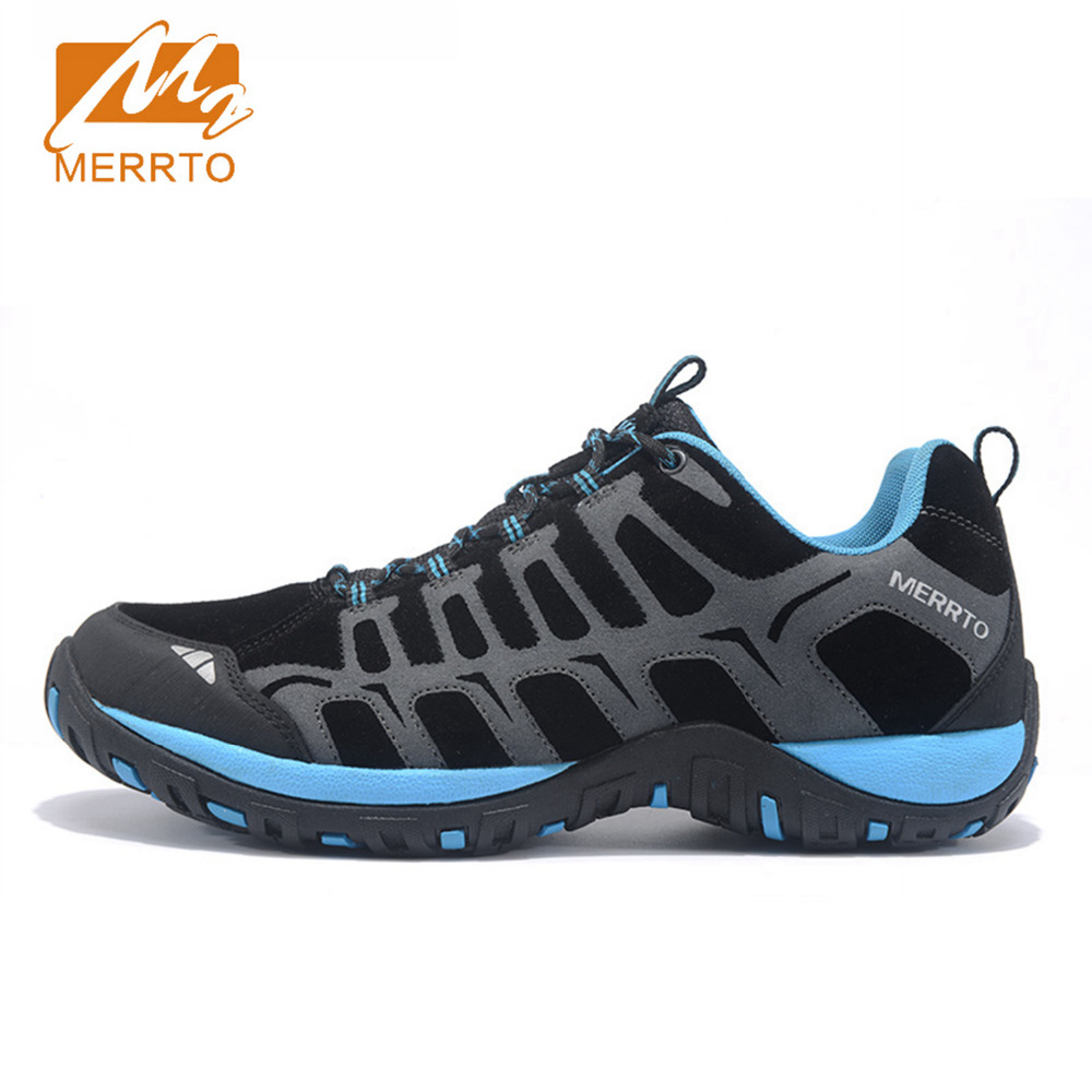 2017 Merrto Men Walking Shoes Breathable Non-slip Outdoor Sports Shoes Travel Shoes First Leather For Men Free Shipping MT18607 корм зоомир хомка лакомка для грызунов 500г