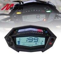 Motorcycle Accessories Tachometer Hour Meter Digital Speedometer Odometer Techometer Gear Indicator For Kawasaki Z1000