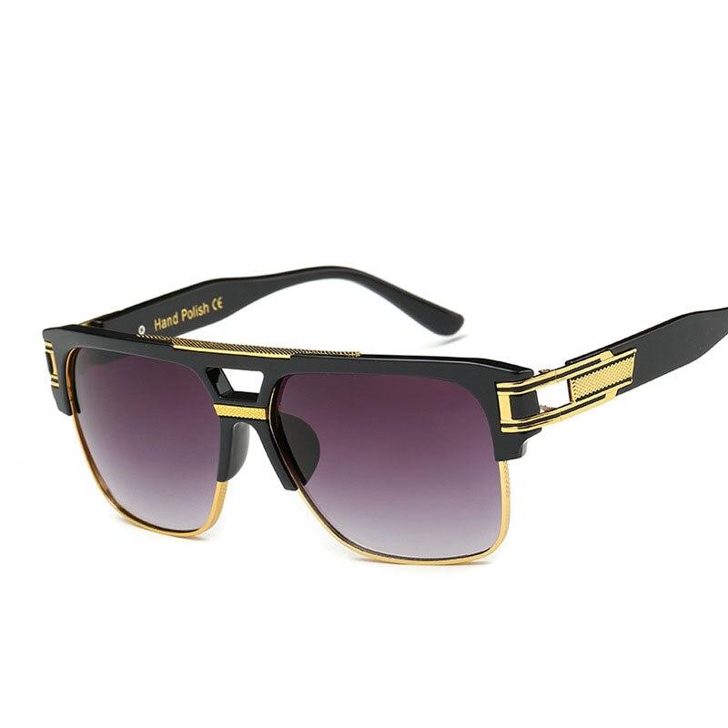 Steampunk Goggles Men Carter Oversized Sunglasses Female Transparent Oculos Sun Glasses Brand Driver Lunette Eyeglasses UV400