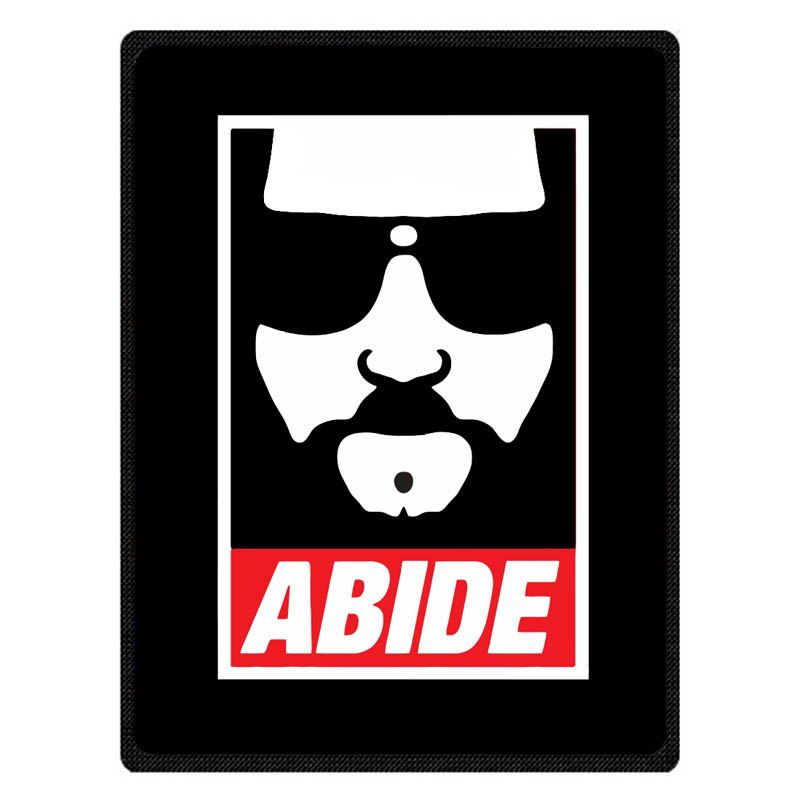 Personalized The Big Lebowski Throw Blanket Custom Coral Flannel Blanket Sofa Couch Bed Plane Travel TV Blankets