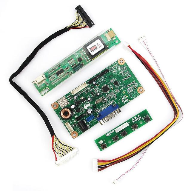 VGA Плата Управления Для B141EW04 V4 QD14TL02 LCD/LED Driver Управления Совет 1280x800 LVDS Монитор Повторное Ноутбук