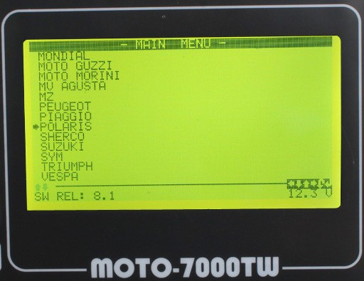 MOTO 7000TW Universal Motorcycle Scan Tool p