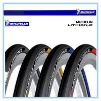 Michelin lithion-2 צמיג אופני כביש אופניים ספורט אימון עמיד צמיג 23c 700 * מתקפל קל במיוחד מתקפל צמיגים 60TPI