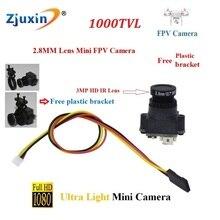 1000TVL 2.8MM Super Mini Wide Angle FPV camera PAL/NTSC Format camera FPV mini  RC Cam for FPV Aerial Photography HD mini camera