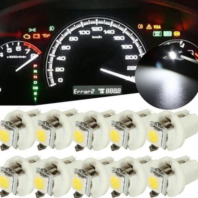 Dc12v 50501 Smd 120 Degree T5 B8 5d Gauge Led Car Dashboard Side Interior Dash