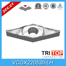 VCGX 220530-LH YD101 (10pcs/Lot) YD101 ZCC.CT cemented carbide Tool turning insert for aluminium alloyminium alloy