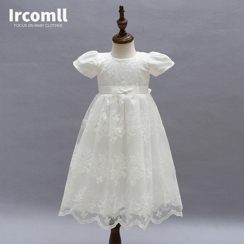 High Quality Baby Girls Princess Dress Christening Gown Dresses Infantis for Newborn Birthday Party Baptism 2018 newborn baby christening party dress gown full dress princess girls 1 year birthday baby dresses for baptism infant clothes