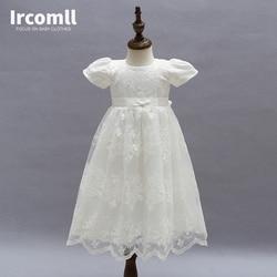 High Quality Baby Girls Princess Dress Christening Gown Dresses Infantis for Newborn Birthday Party Baptism