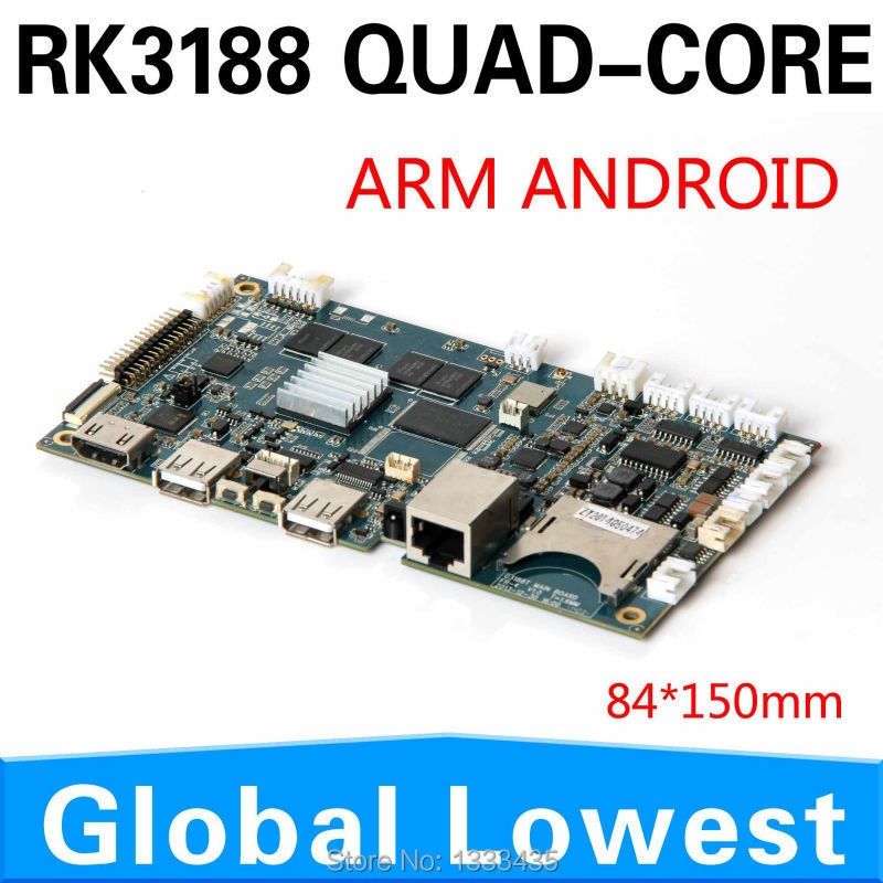 Mini ARM Mainboard Android Mini Itx Board With Quad Core