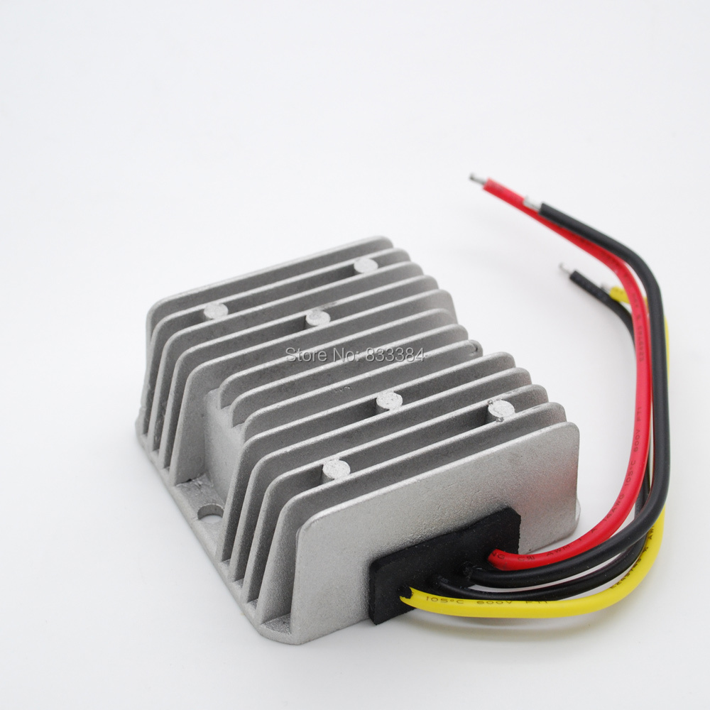 High efficiency ! DC-DC Boost converter 12V(9-17V) to 19V 10A 190W for electric vehicle