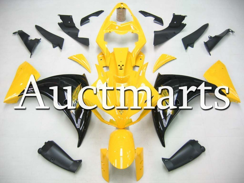 For Yamaha YZF 1000 R1 2009 2010 2011 2012 YZF1000R inject ABS Plastic motorcycle Fairing Kit YZFR1 09 10 11 12 YZF1000R1 CB07