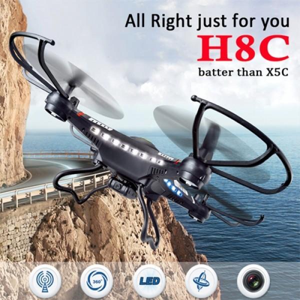 JJRC-H8C-4CH-24G-6Axis-Gyro-20MP-Camera-2GB-Memory-Card-RC-Quadcopter-74V-500mAh-Battery-Left-Hand-Control-Black_600x600