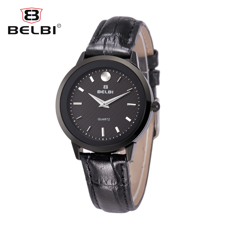 BELBI Luxury Brand Watch Stainless Steel Watches for Women Quartz Analog Mesh Band Wrist Watch Orologio creative star pattern zinc alloy case pu band quartz analog wrist watch for women green brown