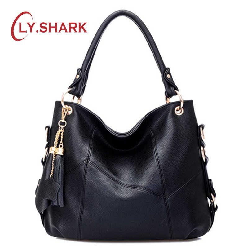 8bce8027eeee SHARK Women Leather Bag Female Luxury Handbags Women Bags Designer Women  Messenger Bags Crossbody