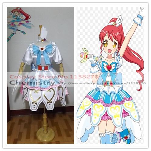 New PriPara Mikan Shiratama Dress Cosplay Costume