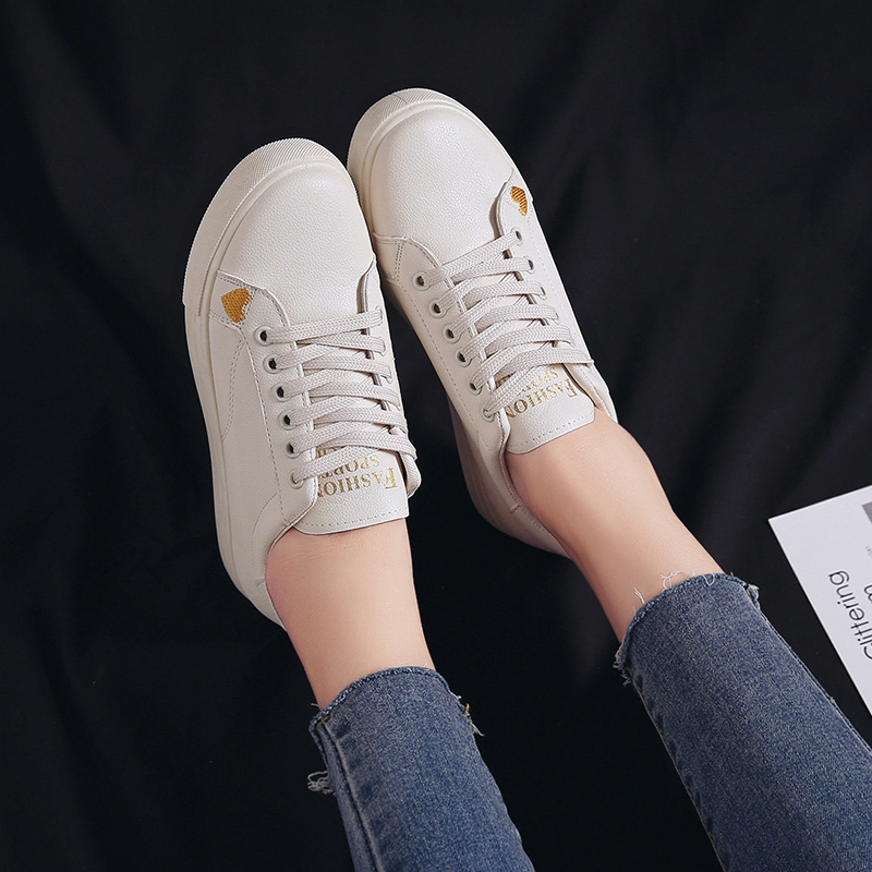 Women Shoes White Sneakers For Vulcanize Spring Autumn  Casual Basket Trainers NVX25