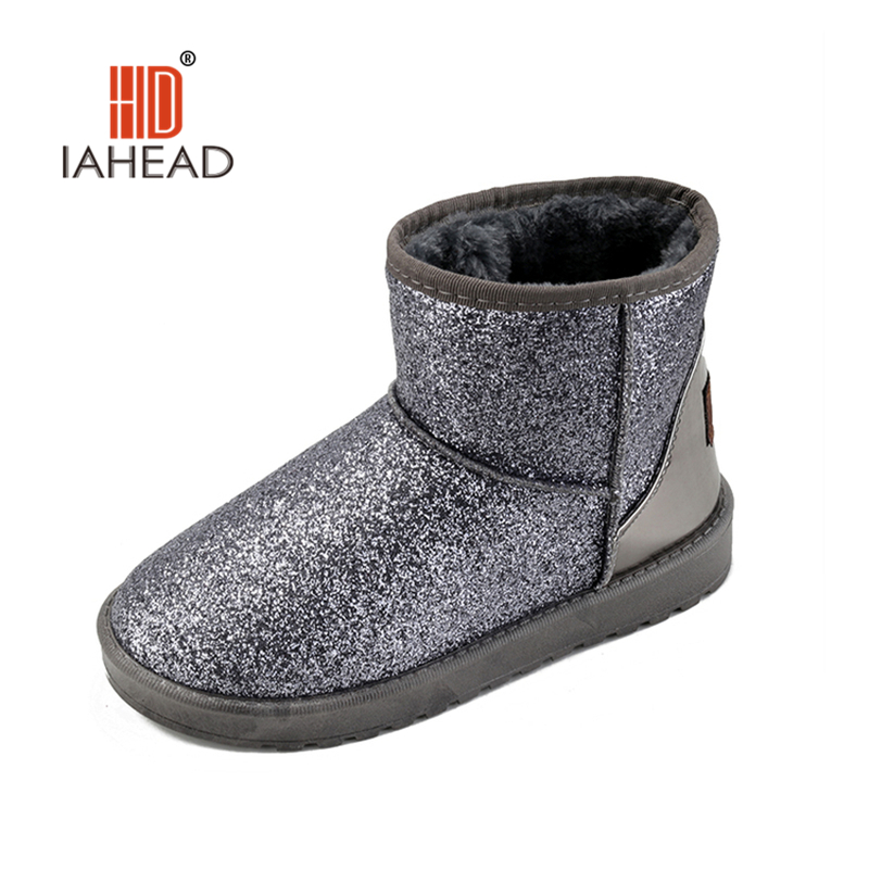 New  Women's Casual Snow Boots  Woman Fashion Winter Ankle Boot Winter Women shoes Slip On Platform Women Flats Shoes UPB940 new winter shoes 2017 women boots casual ankle boots women slip on flats platform shoes with plush warm snow boots 7e27