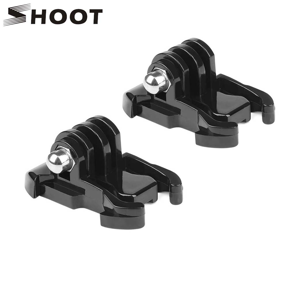 SHOOT Quick Release Buckle Tripod Base Mount for GoPro Hero 7 6 5 Black 4 3 Session Xiaomi Yi 4K Sjcam Sj4000 Go Pro Accessories for gopro hero 4 accessories flat curved adhesive mount base with vhb for gopro hero 5 4 3 session sjcam sj4000 sj6000 h9 kits
