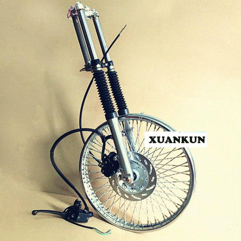 Передние ступицы колеса