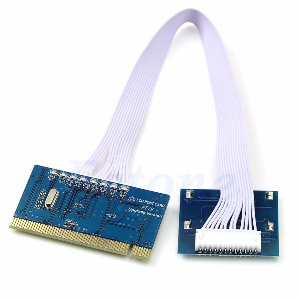 New PC PCI LCD Diagnostic Post Debug Test Card For Desktop Motherboard PTI9