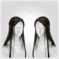 80cm long anime hair cosplay vintage hair fairy cosplay ancient chinese dynasty stage performance photograph hair