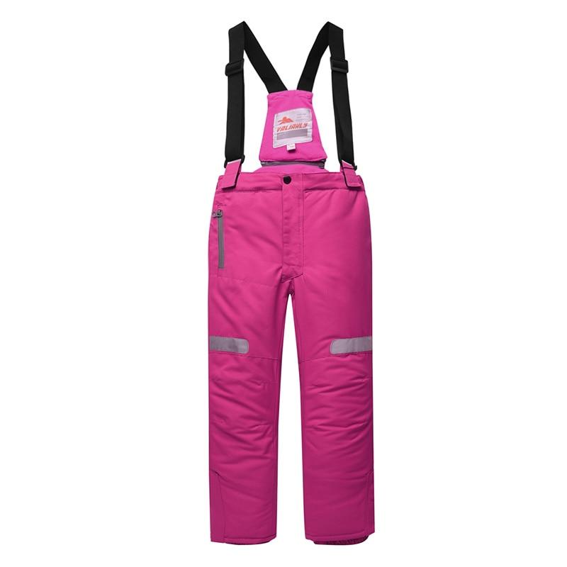 Image 5 - 2019 Winter Kids Girls Snowsuit Ski Sets Warm Hooded Girls Ski  Suit Ski Jacket Pants Outdoor Children Waterproof Snowboard  SuitsClothing Sets