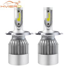 Super Bright Car Head lights H7 LED H8/H11 HB3/9005 HB4/9006 72W 7600lm Auto Front Bulb Automobile Headlamp 6000K Lighting