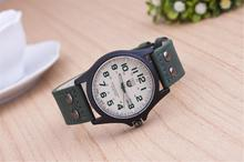 Military Amy Sport Genuine Leather Quartz Wristwatch