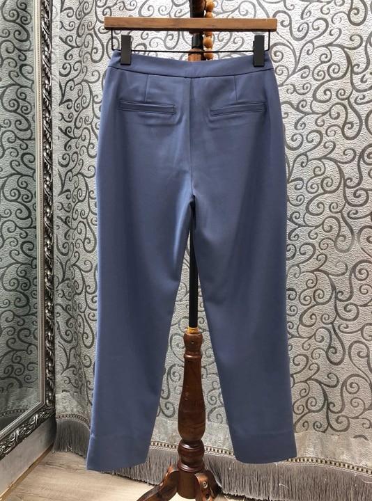 Mujeres Salvaje 2019 De Las Pantalones Casuales Bolsillo Color Primavera Nuevas wYIq5T