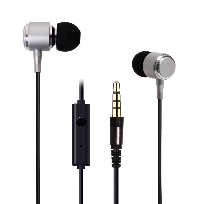 S91 Earphone Headphones With Switch Songs and Mic For Ipad Samsung IPhone5/5s Mp3 Music Retail Box High Bass Quality