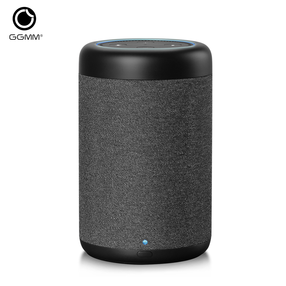 GGMM D6 Portable Speaker for Amazon Echo Dot 2nd Generation 20W Powerful Column for Alexa Speakers 5200mAh Battery (Without Dot)