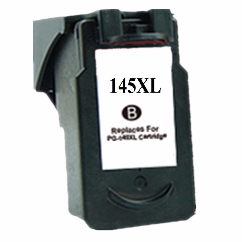 Remanufactured Ink Cartridges Cartridge For Canon PG-145 XL PG-145XL PG 145 PG145 Pixma MG2410 MG2510 Inkjet Printer image