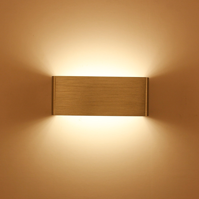 simple LED Wall lights Wall Mounted Indoor Decoration wall ...