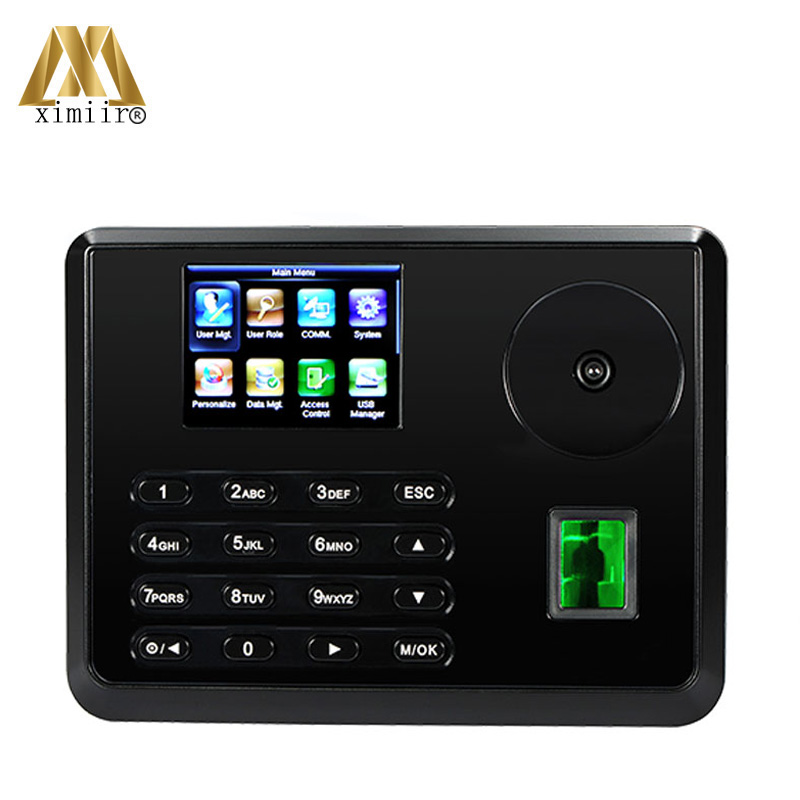ZK Palm Time Attendance Time Clcok With TCP/IP Biometric Fingerprint Time Recorder TX628-P Employee Attendance