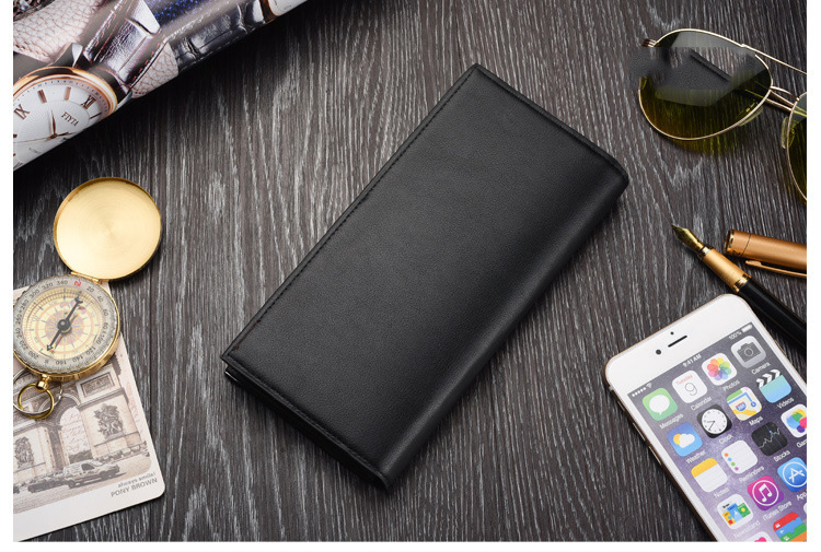 wallet men leather thin