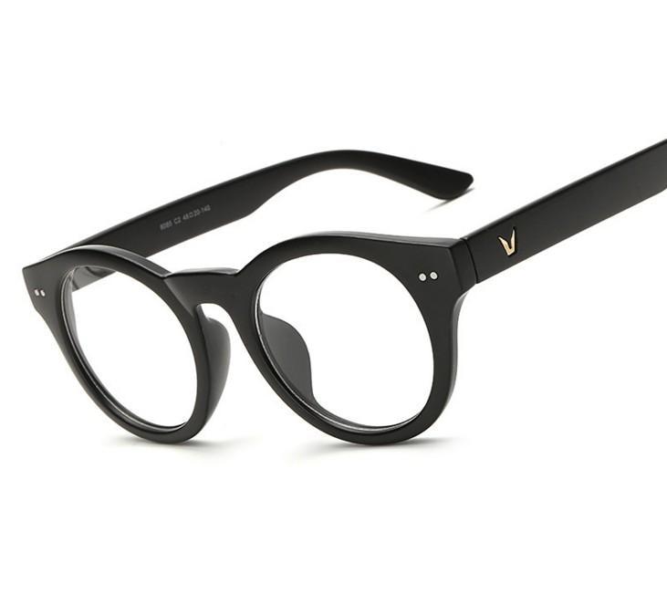 e9e0abbd0a6df3 N69 NewV-En Forme De Lunettes Cadre Marque Pour Femmes Mode Hommes Optique lunettes  Cadre Lunettes Une De Grau Armacao Femininos