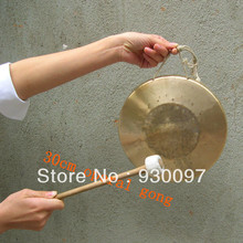 "high quality small gong,100% handmade 12"" opera GONG, chinese traditional gong for sale"