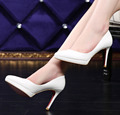 Hot Women pointed toe Patent leather Low heel women  OL Office shoes Quality sexy Platform women pumps Free shipping