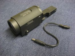 AK SD Tactical Light ZENIT 2P-KLESH Weapon Light with Remote Switch and Integrated 20mm Weaver Rail