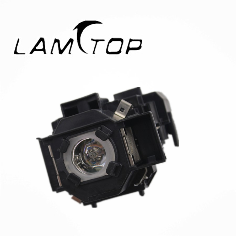 FREE SHIPPING  LAMTOP Hot selling  original lamp  with housing  ELPLP34/V13H010L34  for  EMP-X3 free shipping lamtop hot selling original lamp with housing elplp61 v13h010l61 for eb 430 emp 1830