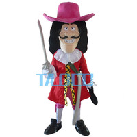 Новые Викинги Pirate Captain Hook талисмана нарядное платье для взрослых бесплатная доставка