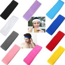 5 шт/лот эластичные повязки на голову унисекс для спортзала