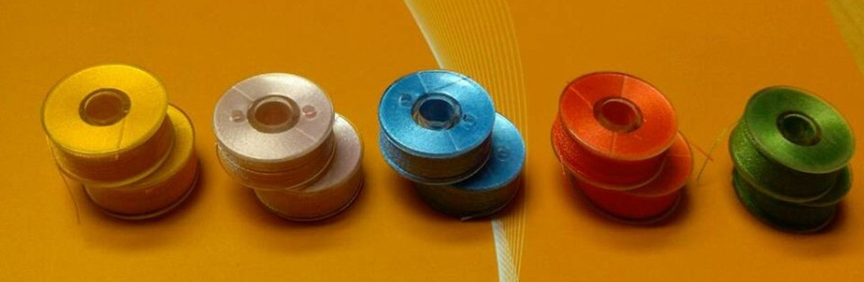 Free shipping colorfull style A prewound bobbin tubes for embroidery thread machine