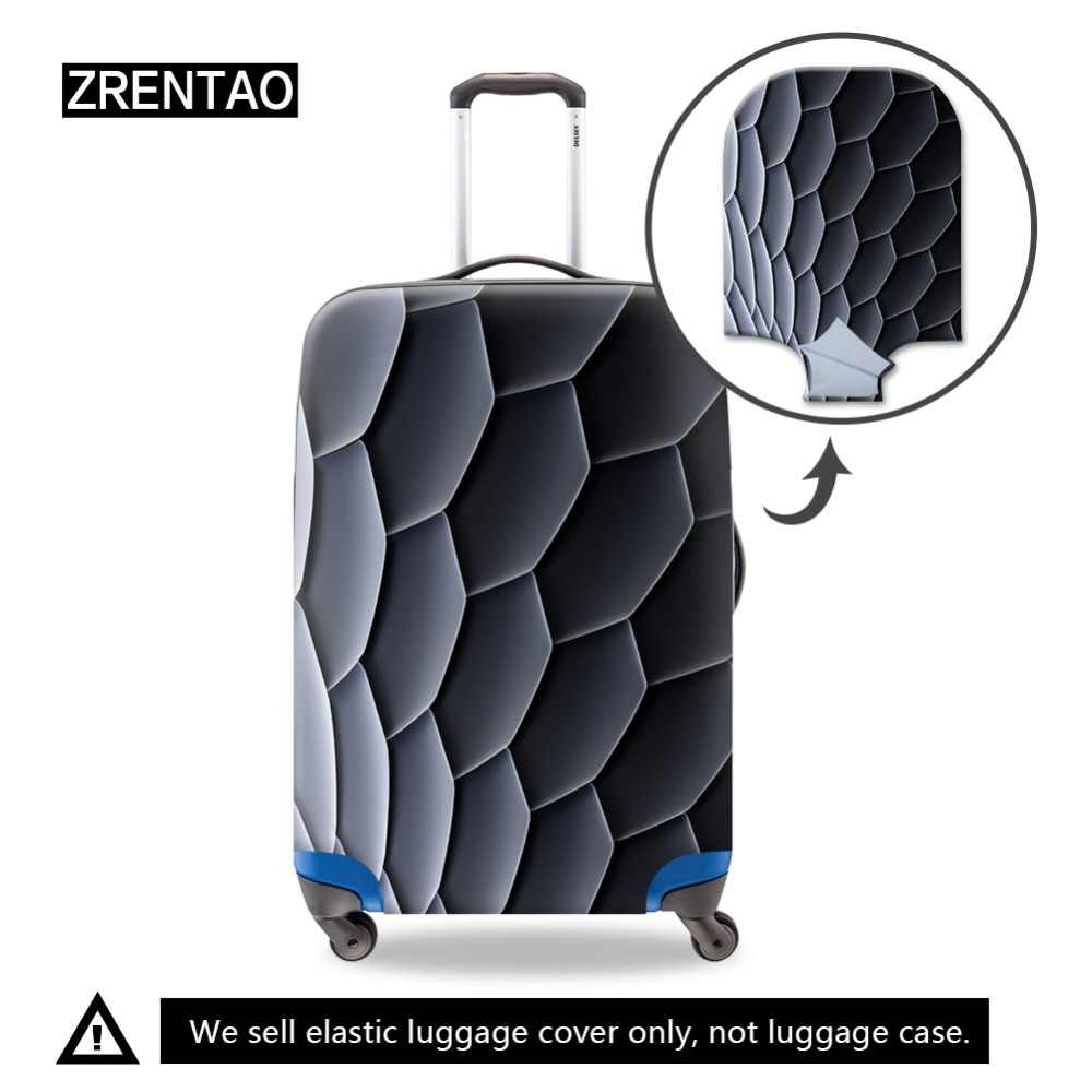 Dropshiping High quality travel suitcase Elastic dust cover Trolley case Luggage protection for S/M/L suitcase protective cover