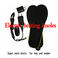 Electric heating men insoles men shoes 1900 MA  winter Super warm boots Free shipping women shoes