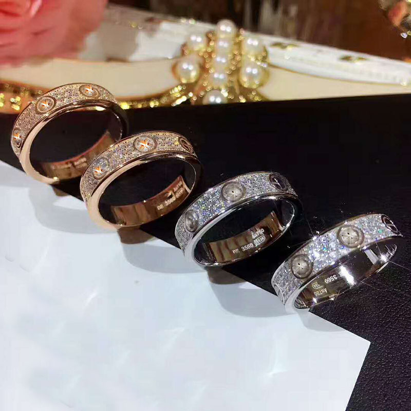 925 Silver Fashion Classic Luxury Famous Brand Bague Cross Wedding Love Ring For Women Silver Rose Gold Color Lovers Jewelry925 Silver Fashion Classic Luxury Famous Brand Bague Cross Wedding Love Ring For Women Silver Rose Gold Color Lovers Jewelry