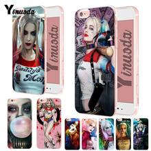 Yinuoda Suicide Squad Joker Harley Quinn Weiche silikon Abdeckung fall Für iPhone 6 6plus 7 7Plus 8 8plus X XS XR XSMax(China)