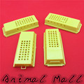 4 pcs New Bee Cages Beekeeping Transport cages Lengthened Yellow Prisoners Wang cage Bee Tools