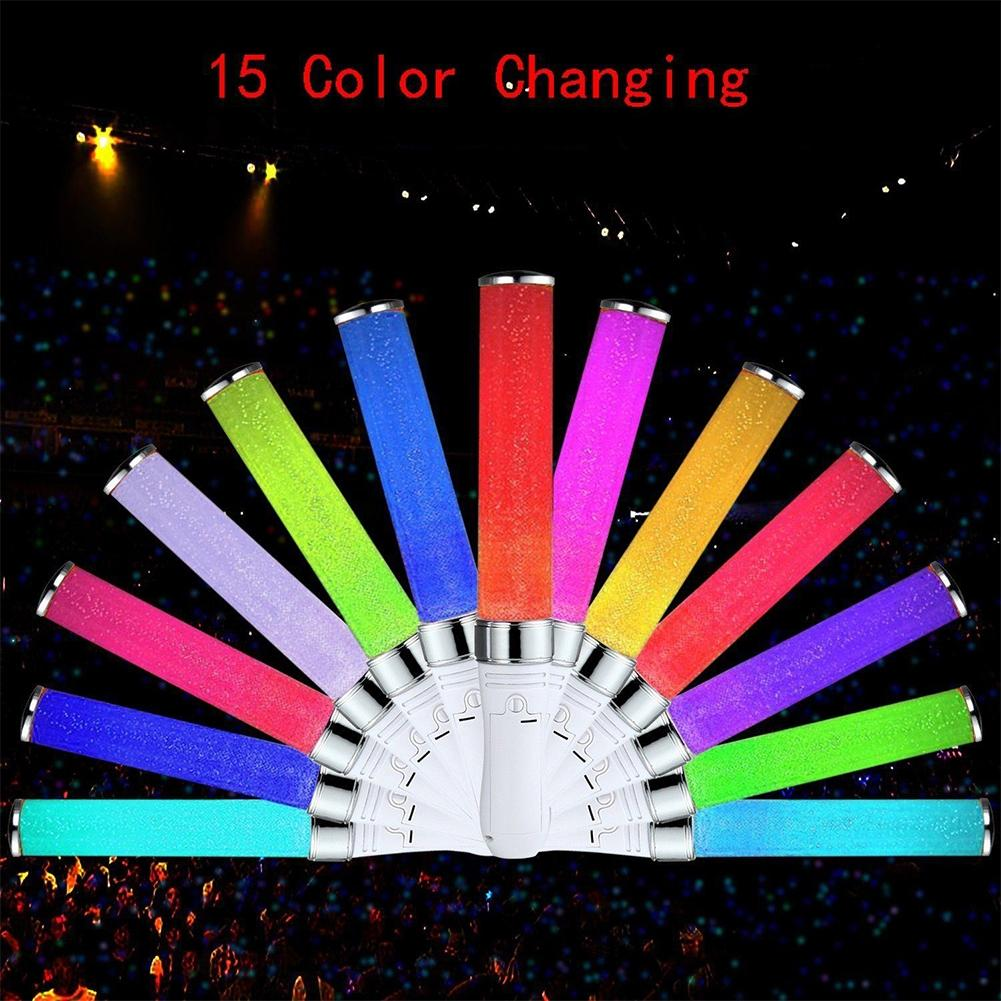 Air Purifier Parts Home Appliance Parts Vocal Concerts Glow Stick 15 Colors Change Glowing Led Magic Wand Sticks Highlight Flashing