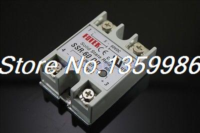 10pcs Solid State Relay SSR-60 DD DC-DC 60A 3-32VDC/5-60VDC solid state relay g3nb 240 5 b 1 24 vdc